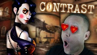 STEP INTO THE SHADOWS - Contrast Gameplay