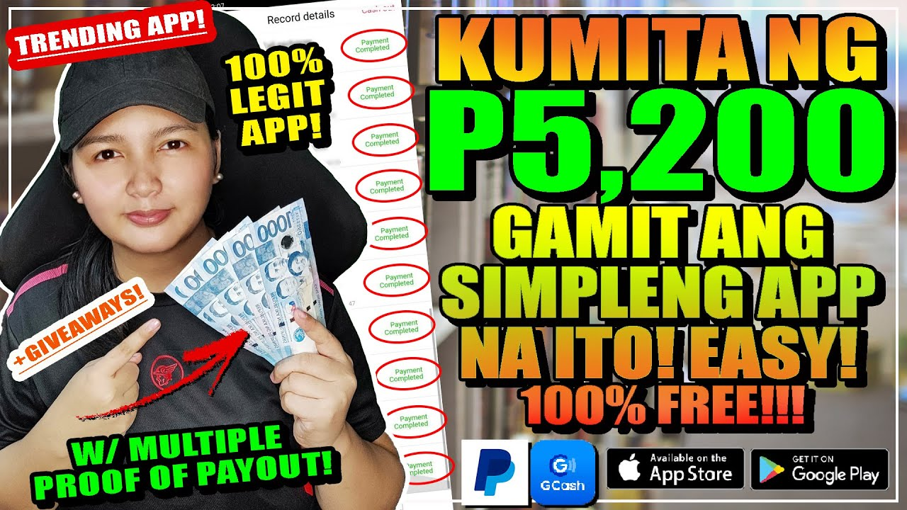 LEGIT: KUMITA NG P5,200 PESOS SA PAG SCROLL NG IYONG SCREEN | W/ OWN PROOF OF PAYOUT! 100% FREE!