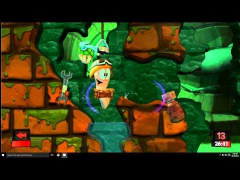 Worms Revolution Destruction Match |