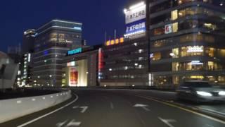 Tokyo night drive 4K 2016 首都高 thumbnail