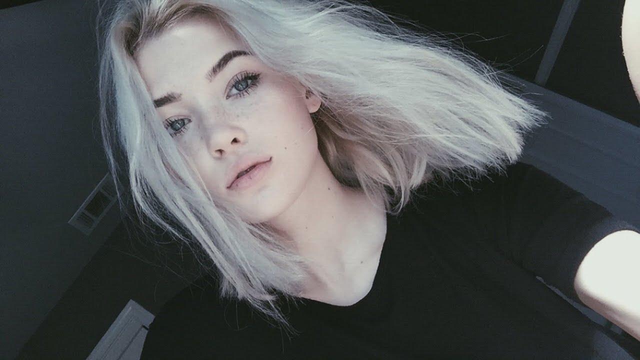 white hair home
