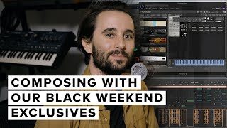 Composing With Our Black Weekend Exclusives: The Ton, The Black Weekend & Aperture Strings