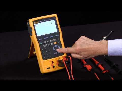How To RTD Measure And Source On The Fluke 754 Documenting Process Calibrator