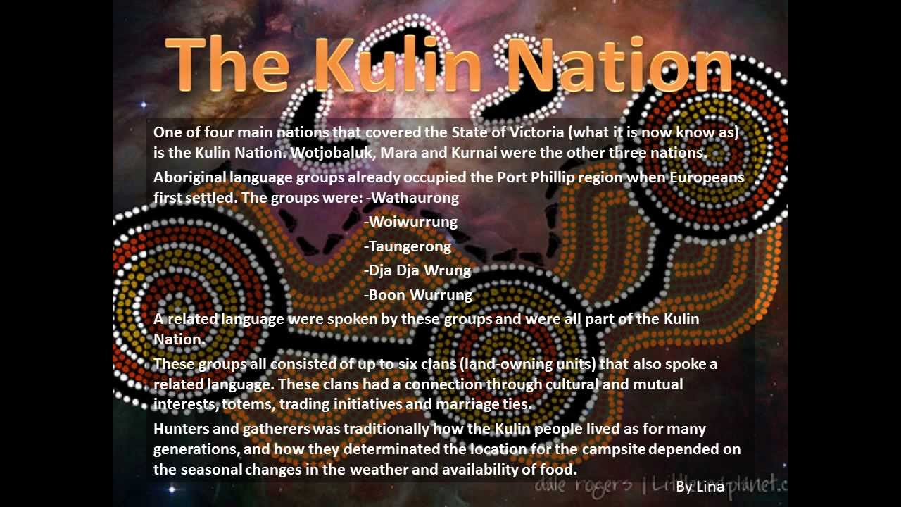 The Kulin Nation - Wathaurong - YouTube