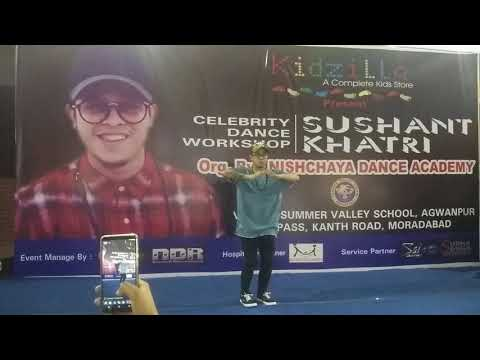 Sushant khatri|| Sau Dard Hai song|| fell dance video