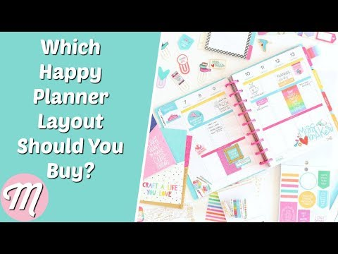 Which Happy Planner Layout Should You Buy?