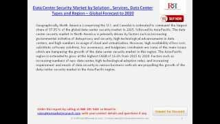 2020 Data Center Security Market Analysis on Market Shares and Growth Strategies