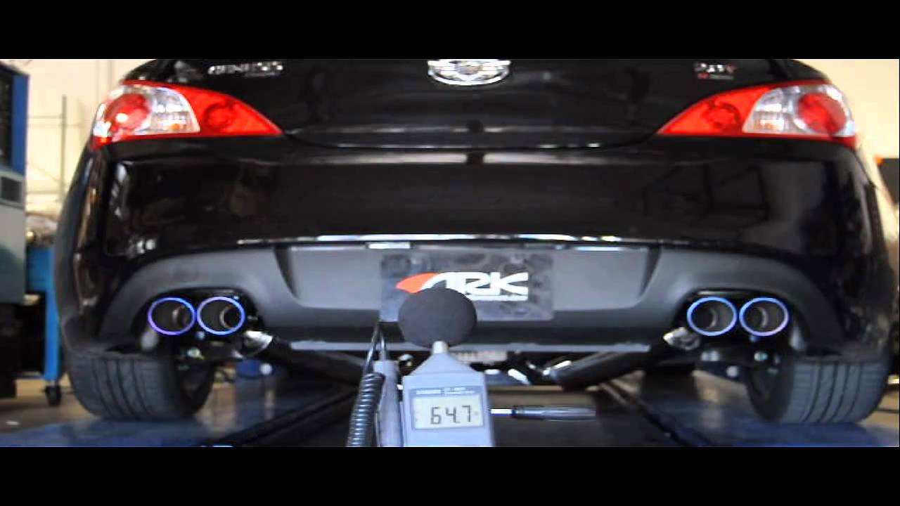 Ark Premium Grip Exhaust For Genesis Coupe 2 0t Sound