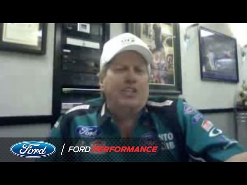 Answering Fan Questions with John Force   Drag Racing   Ford Performance