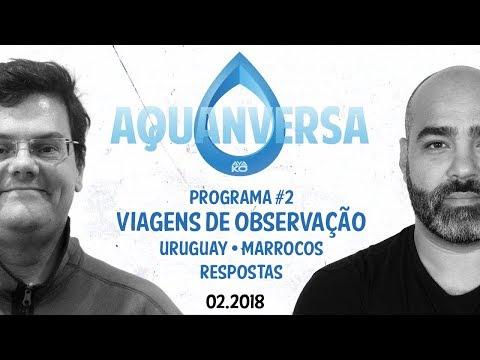 AQUANVERSA #2 - Viagens de Observação • Uruguay • Marrocos  Perguntas e Respostas • FEV2018