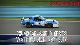 Ecotec Miata Watkins Glen ChumpCar May 2017 Patrick Sat Stint 2