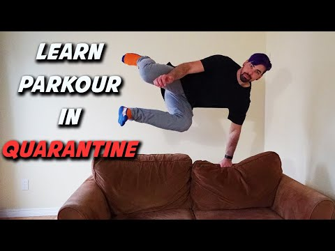 10 EASY Parkour Move To Learn At Home During Quarantine
