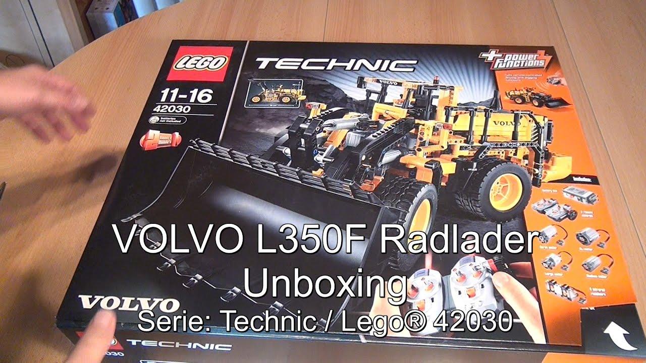 unboxing lego volvo l350f radlader lego technic set. Black Bedroom Furniture Sets. Home Design Ideas