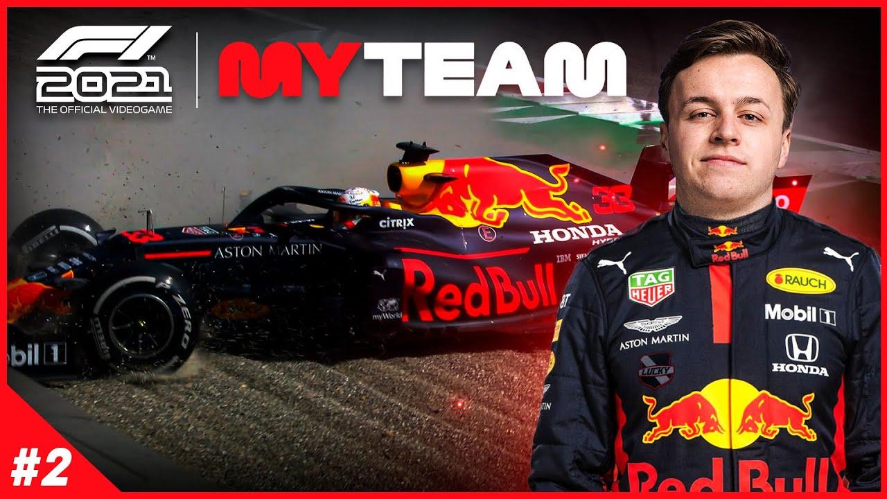 ONZE TEAMGENOOT CRASHT! - Formule 1 MyTeam #2