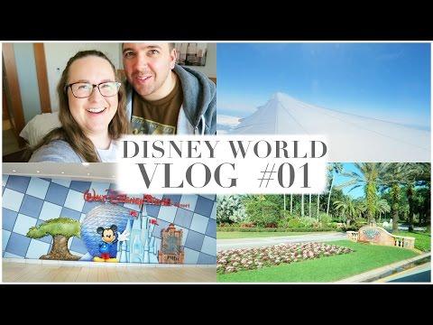 DISNEY WORLD HONEYMOON Vlog Day 1 – April 2016 Gatwick to Orlando Travel Day | misscheriexx