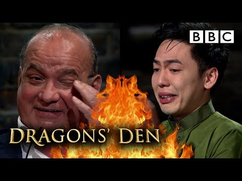 Inspiring pitch leaves Dragons in tears! | Dragons' Den - BBC