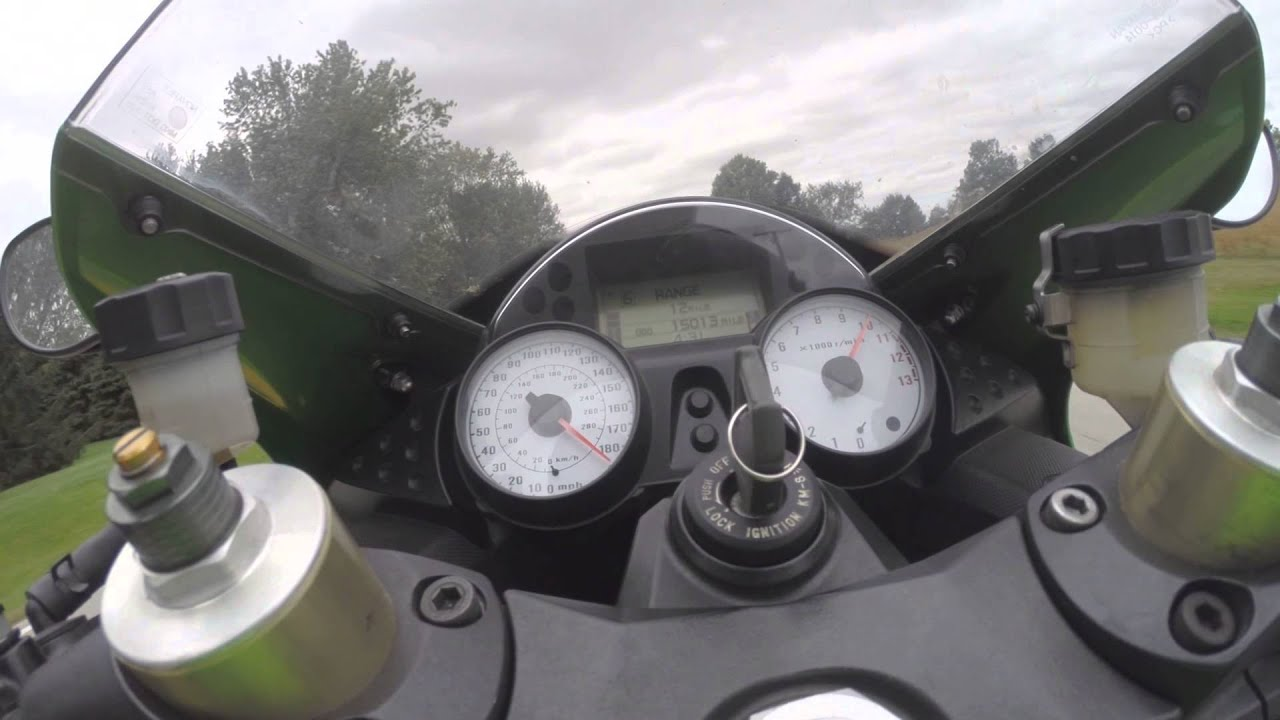 2009 Kawasaki Zx14 Stock 0 186mph Top Speed Acceleration