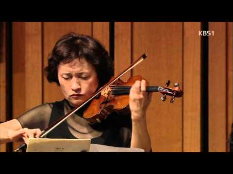 Kyung-Wha Chung : J.S.Bach - Air on the G String with Myung-whun Chung