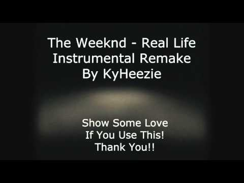 The Weeknd - Real Life Instrumental [OFFICIAL AUDIO]