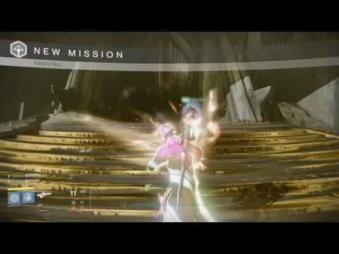 Destiny - King's Fall raid - Warlock skip to Daughters