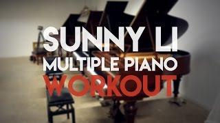 Sunny Li Multiple Piano WORKOUT | Piano Restorations