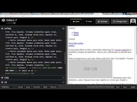 HTML 5 Semantic Elements