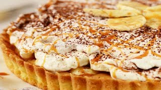 Banoffee Pie Recipe Demonstration - Joyofbaking.com