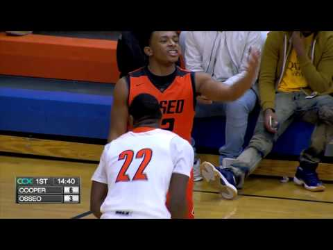 Cooper vs. Osseo Boys High School Basketball