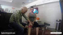 South Beach Miami FL Chiropractor : Kinesio Tape for Knee Pain