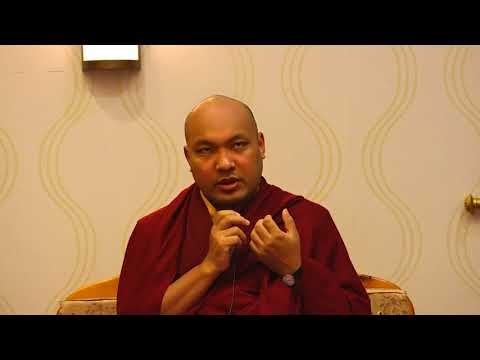 The Gyalwang Karmapa Addresses a Tibetan Community Gathering in Washington DC
