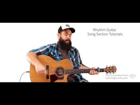 T-Shirt Thomas Rhett Guitar Lesson and Tutorial