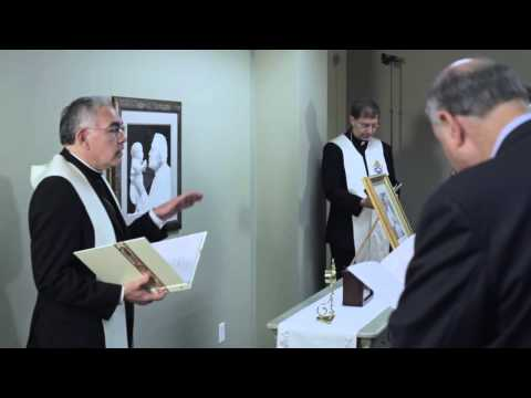 Relic of Patron Saint of Physicians Enshrined at The Vitae Clinic (FULL)