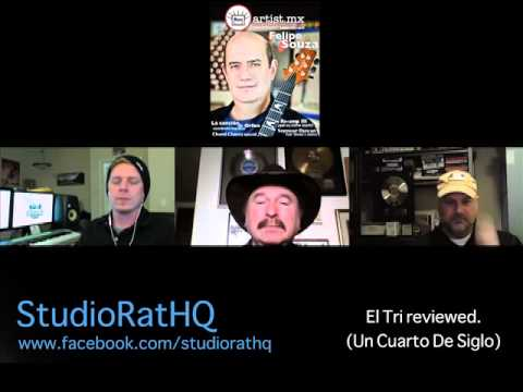 "EL TRI live album ""Un Cuarto De Siglo"". Behind the scenes. A Studio Rat HQ podcast #9"