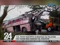 Isa, patay matapos sumadsad sa palayan ang isang bus; mahigit 20, sugatan