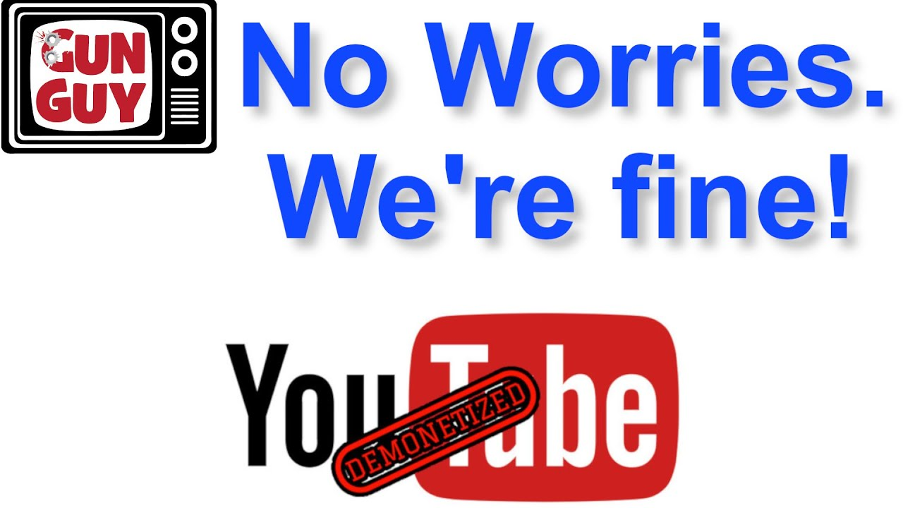 Update! YouTube is demonizing gun channels again.