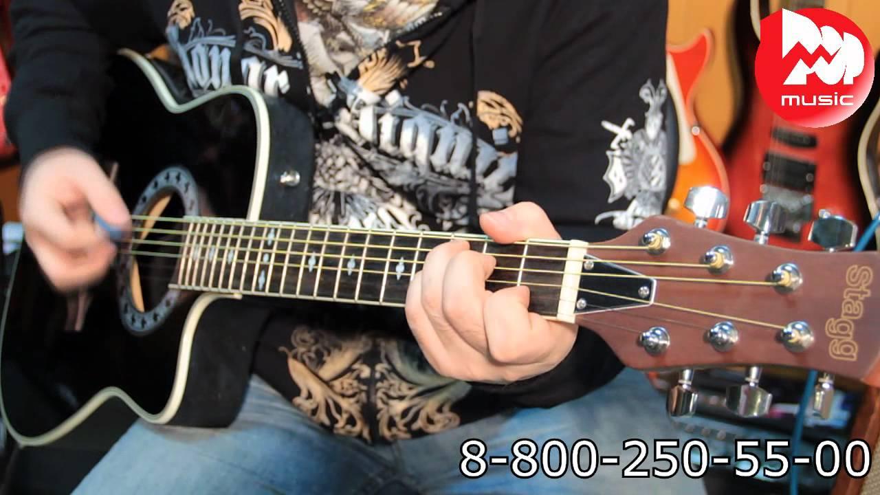 Демонстрация звукоснимателя для акустической гитары Fayer KQ-3 .