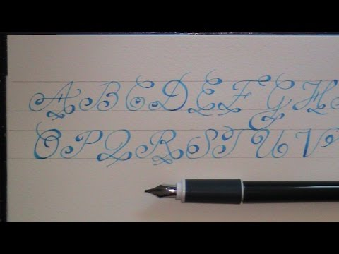 Cursive Fancy Letters How To Write Fancy Letter F For Beginners