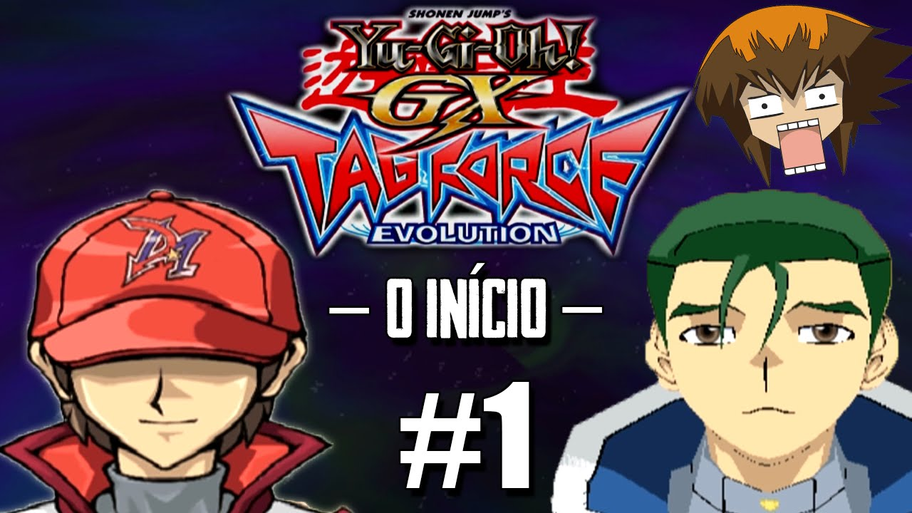 Yu-Gi-Oh! GX TAG Force Evolution #1 - Chegando na Academia ...