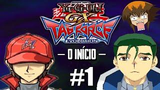 Yu-Gi-Oh! GX TAG Force Evolution #1 - Chegando na Academia / O Grande Duelista GOSTOSO!! [PS2]