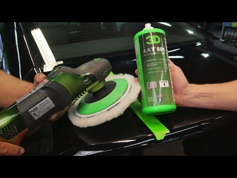 Remove big scratches with compound and no sand paint correction