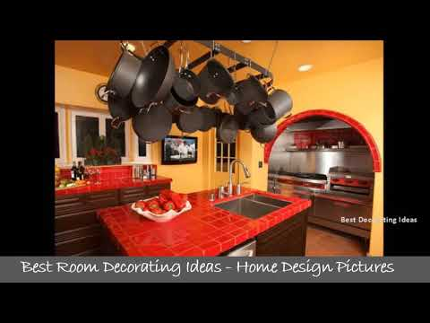 green-and-red-kitchen-design-|-pictures-of-home-decorating-ideas-with-kitchen-designs-&-paint