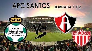 Gambar cover LIGA APC | JORNADA 1 Y 2 | ACP SANTOS | CLUBES PRO