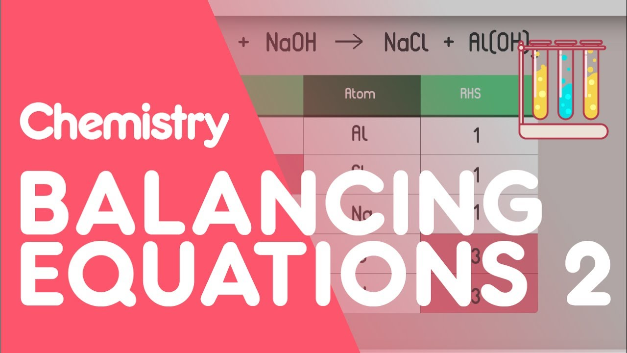 How To Balance Equations - Part 2 | Chemistry for All | FuseSchool image