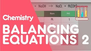 How To Balance Equations - Part 2 | Chemistry for All | FuseSchool