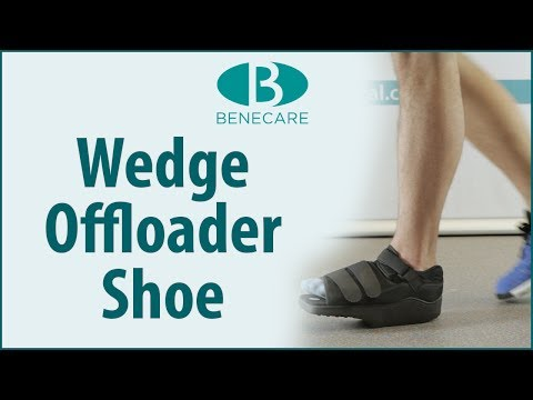 Benefoot Wedge Offloader Shoe: Product Information
