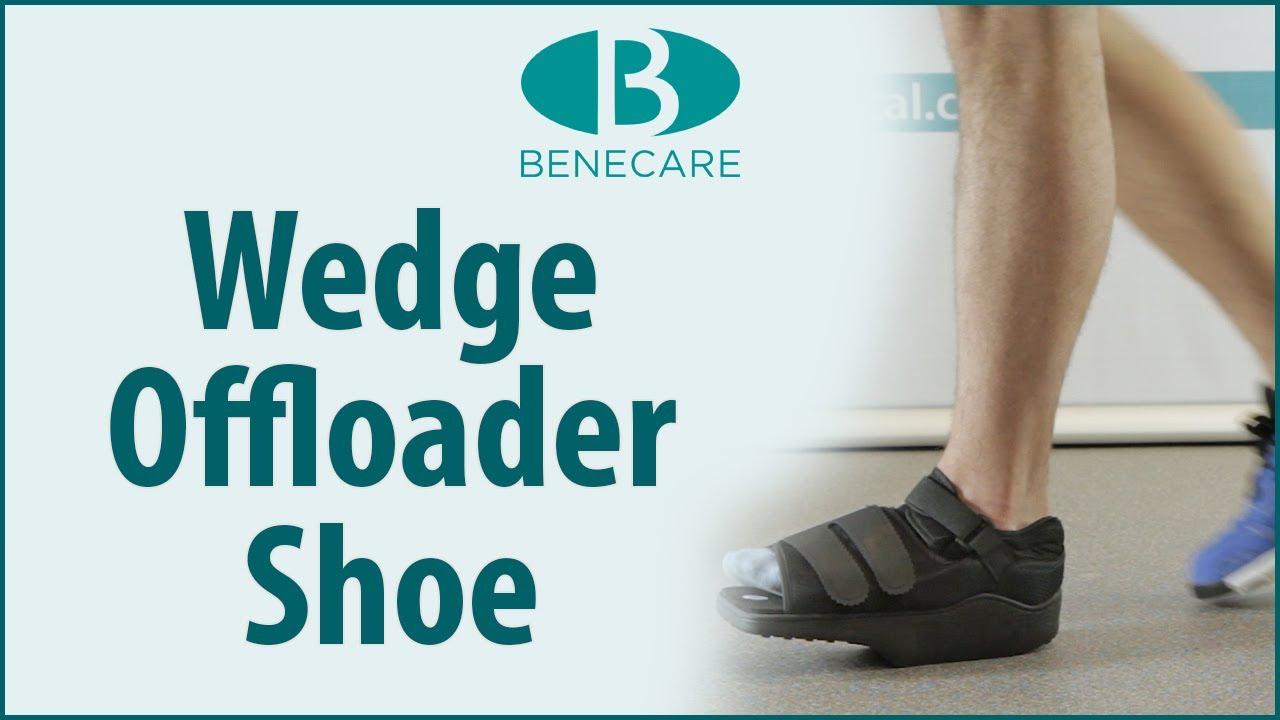 1d86b80b3b55 Benefoot Wedge Offloader Shoe  Product Information. benecaremedical