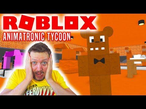 JEG ER FREDDY! - Roblox Animatronic Tycoon Dansk