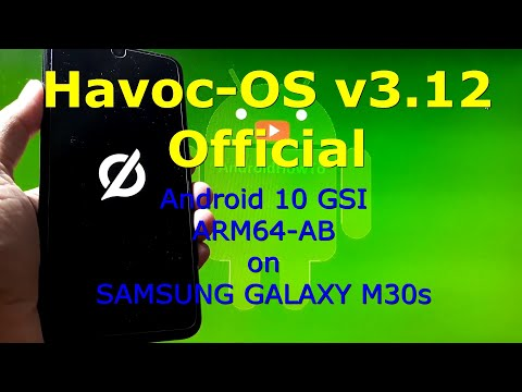 Havoc-OS v3.12 Official Android 10 for Samsung Galaxy M30s