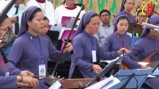 Dàn Nhạc Dân Tộc Cực Độc Đáo Tại Đại Hội Thánh Mẫu La Vang