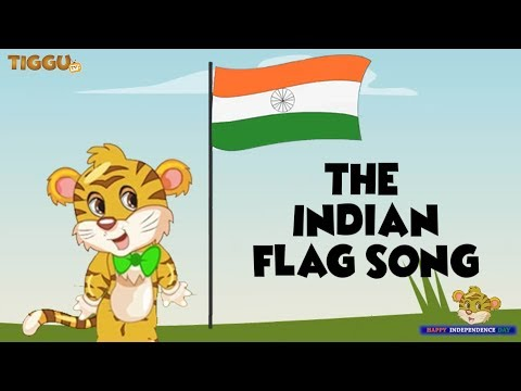 Independence Day Special | Tiggu's New Flag Song | Fun Patriotic Rhyme For Kids